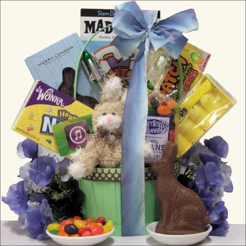 310 best easter images on pinterest chocolate gifts chocolates easter is here and that special guy in your life will love to rock out with easter gift basketscandy negle Image collections