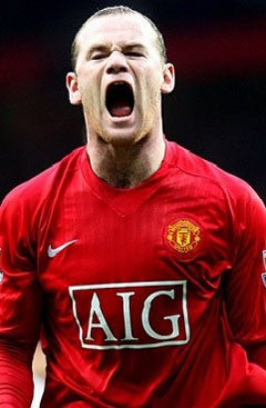 Wayne Rooney Manchester United - Planned match fixture in Cape Town 21 July 2012.