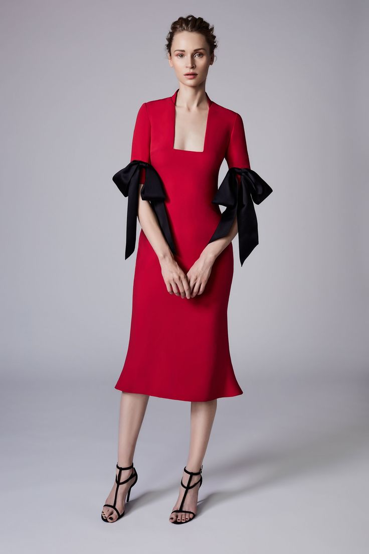 View the complete Resort 2018 collection from Reem Acra.