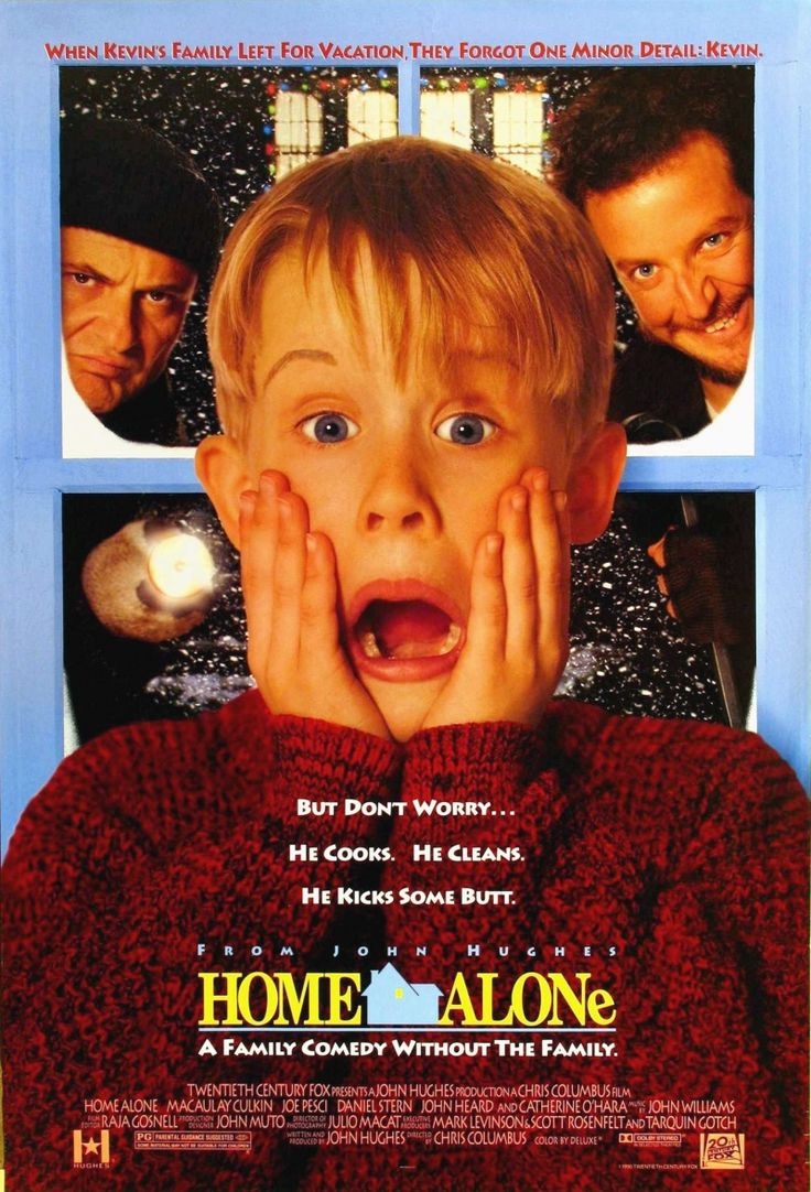 HOME ALONE ~ I really did laugh a lot in this movie, but mainly I loved it for that house. I want one just like it. ~