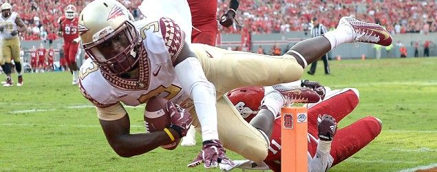 Despite win, Florida State is out of Pat Forde's college football playoff projections. Getty Images)