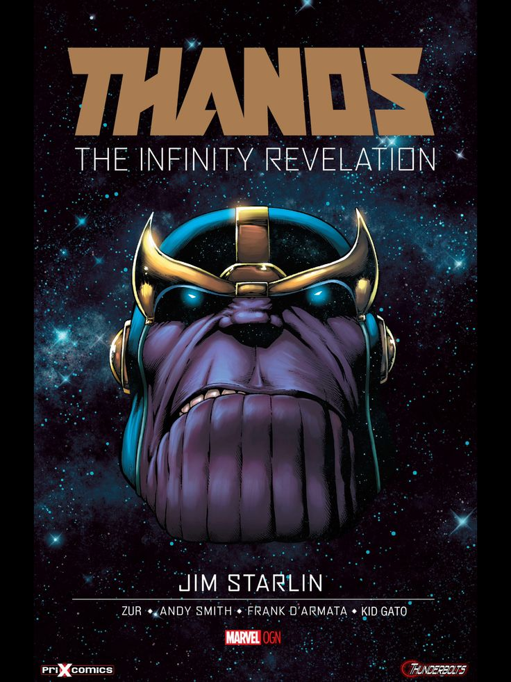 Thanos, the infinity revelation