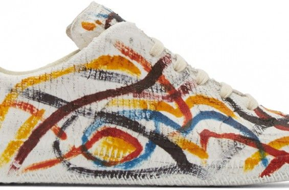 Get Wild With The Maison Martin Margiela Replica Sneaker Multicolor Chalk on http://SneakersCartel.com   #sneakers #shoes #kicks #jordan #lebron #nba #nike #adidas #reebok #airjordan #sneakerhead #fashion #sneakerscartel