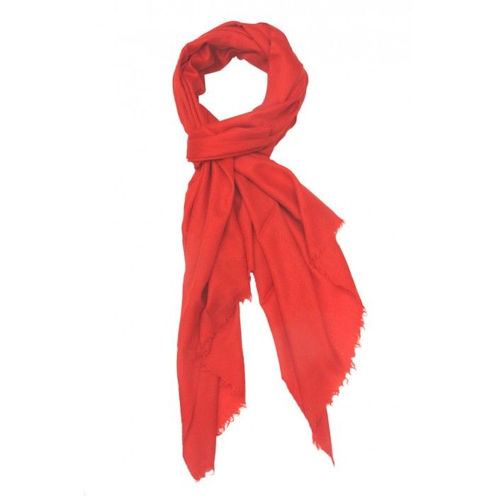 Crimson Plain. There is no limit to combinations and colors this beautiful stole can be paired with. Black, yellow, purple, lime green, skuy blue.... we will run out of place! It is soft, warm and every bit a lady's companion.   http://www.indiancraftsmen.com/accessories/stoles/crimson-plain-mppst0121