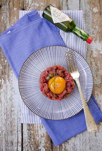 tartare steak by Elisakitty's Kitchen