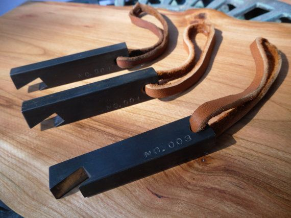 bottle opener by Adam Hogsett. This would be a great groomsmen gift...or stocking stuffer.