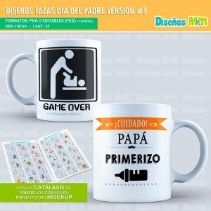 Plantillas-diseños-sublimacion-papa-dia-del-padre-father-junio-taza-vaso-mug-tazones_6