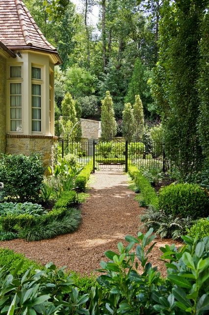 11403 Best Images About Gardens On Pinterest | Topiaries Traditional Landscape And Boxwood Hedge
