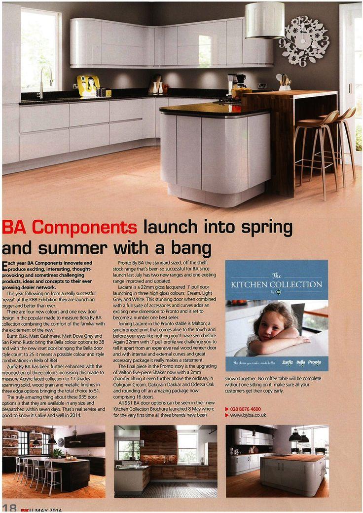 BA Components. Kitchen Brochure May 2014.