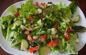 Hmmm, ein frischer Salat! Rezept dazu auf KochenwieChampignons