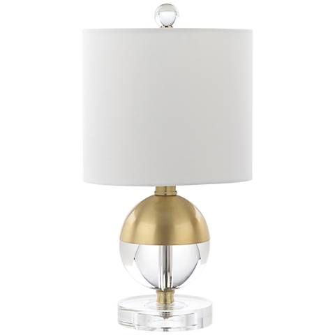 Mcfarland 15 high crystal ball accent table lamp