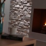Panel Piedra Montblanc stone wall panels in Italian white