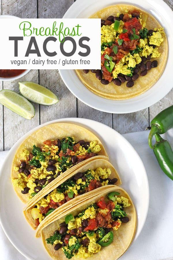 Vegan Breakfast Tacos Recipe Vegan Recipes Easy Vegan Breakfast Recipes Vegan Breakfast