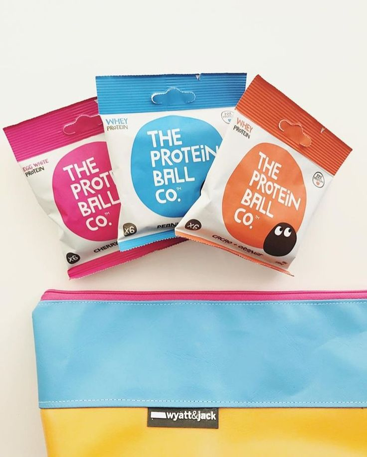 When your pencil case matches your protein balls!