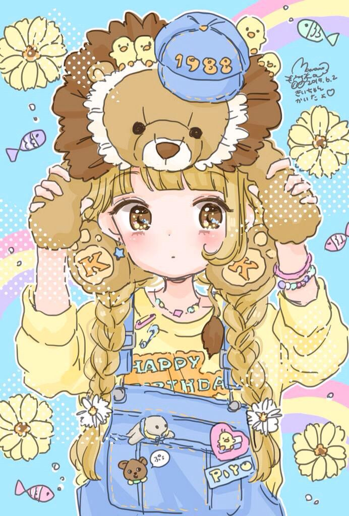 Lion Girl(?) art by ManaMoko #ManaMoko