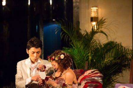 新郎新婦様からのメール 古城 浦安ブライトンホテル様へ : 一会 ウエディングの花