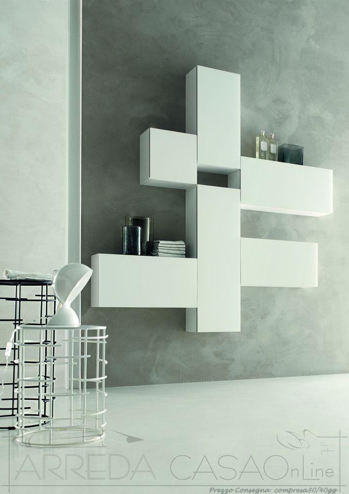Oltre 25 fantastiche idee su arredo bagno rosso su pinterest arredamento da bagno grigio - Specchiera bagno blu ...