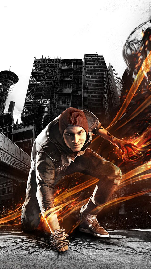 Infamous: Second Son. Someone looks ready to kill...c: