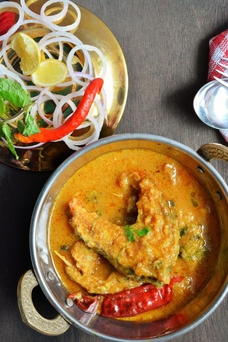 fish in tangy curry