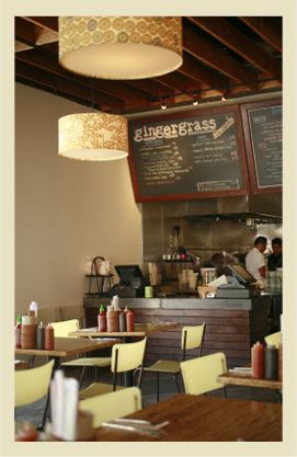 GINGERGRASS (Silverlake) -- Great lunch and dinner spot.  Visit Silverlake Wines across the street and pick up a bottle of vino first. Corkage fee isn't too much.
