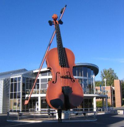 The Big Fiddle, Sydney, Nova Scotia