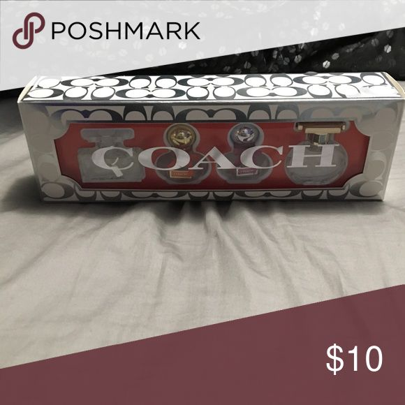 Coach perfume Four trial size Coach perfumes, unused! Other