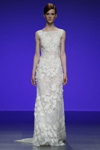 Vestidos de novia cuello barco 2016: Elegancia y sofisticación Image: 2