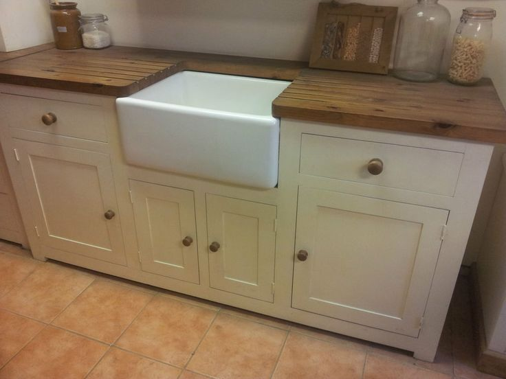 Pine Kitchen Sink Unit