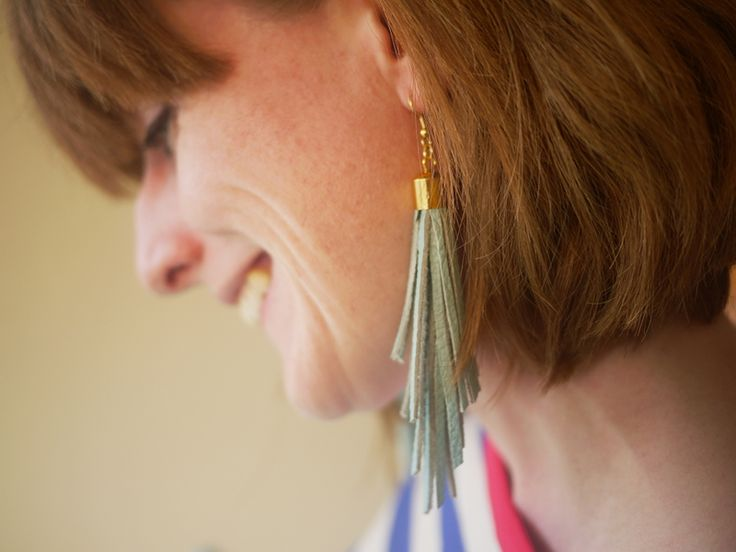 Free Leather Tassel Earrings Workshop! 1pm, Ravenswing Arts & Music Fair, Minto Park, Elgin Street, Ottawa, Ontario