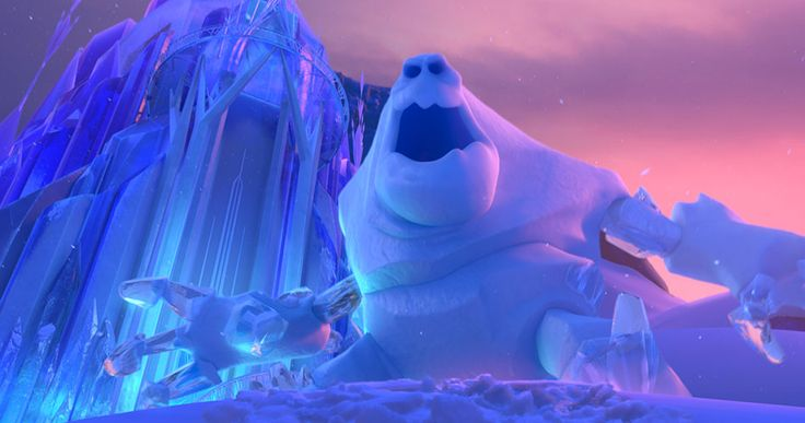 "I took the Frozen quiz, and it decided I was the ice monster?!? Apparently it is named ""Marshmallow""."