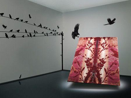 Birdbranch Ruby Rug