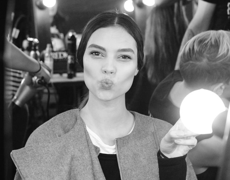 BTS at CAMILLA AND MARC's Resort 2014 show at Mercedes-Benz Fashion Festival Sydney.