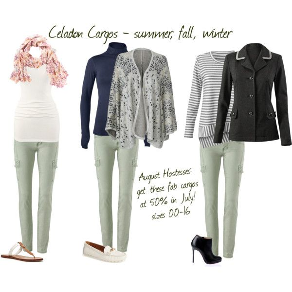 Celadon Cargos for summer, fall, & winter by brie-zy on Polyvore - sabrinasusini.cabionline.com