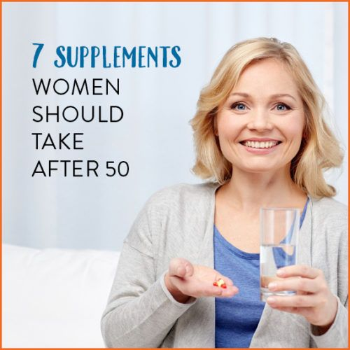 Over 50? Then you may want to look into these supplements for anti-aging, menopause, and above all- healthy living benefits!