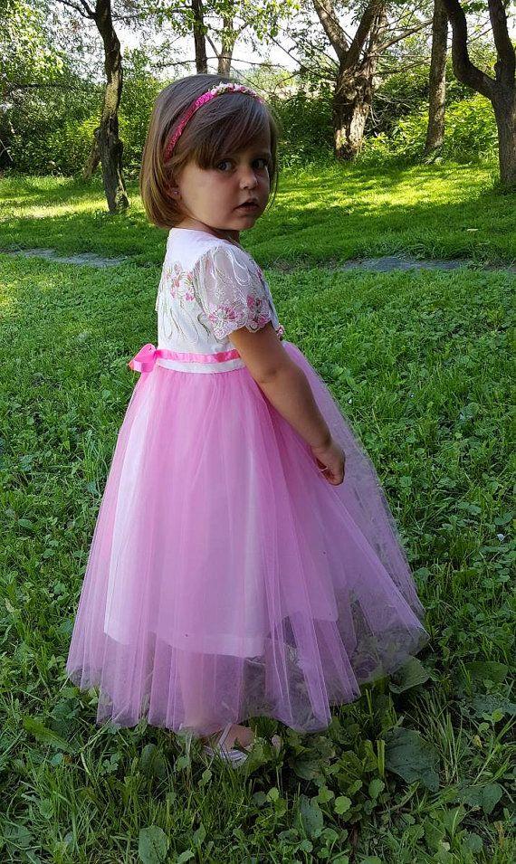 Mejores 8 imágenes de FLOWER GIRL DRESSES en Pinterest | Vestido de ...