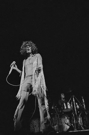 Roger Daltrey - The Who - performing at Woodstock 1969. S)