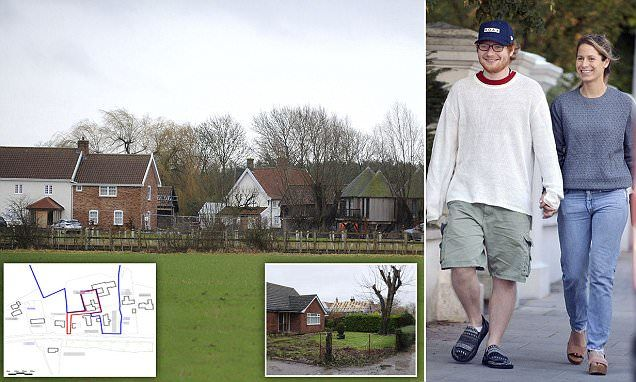 Ed Sheeran Purchases Two More Houses Next To Mansion Com Imagens