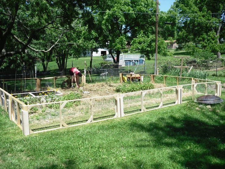 Amazing Cheap Garden Fencing