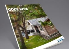 Gode Rom magazine by Moelven. Pinned from www.redink.no.
