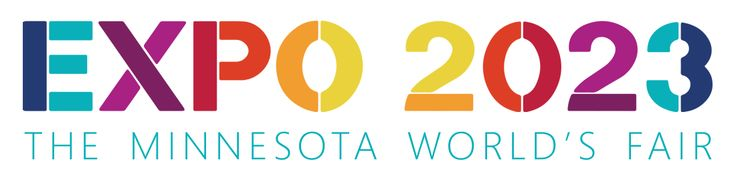 Todd at RBA refreshed the Expo 2023 logo to work with the new website... I love the color clocking as it represents the tapestry of collaboration that is Expo 2023 #expo2023