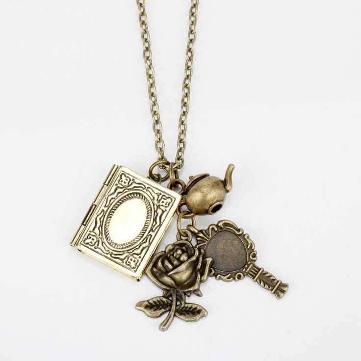 """""""Vintage Book and Rose Flower"""" Beauty And Beast Pendant Necklace  Price: 2.60 & FREE Shipping  Get it here ---> https://thegiftscafe.com/dongsheng-new-beauty-and-beast-necklaces-vintage-book-rose-flower-key-pendants-necklace-choker-victorian-jewelry-accessories-30/ Like Our FB Page --> https://www.facebook.com/EazyDevices/  #fitnessmonitor"""