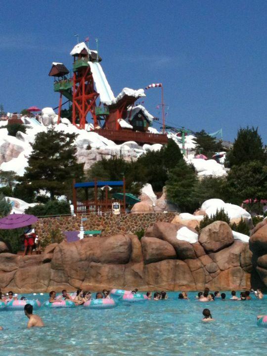 Disney's Blizzard Beach Water Park in Lake Buena Vista, FL