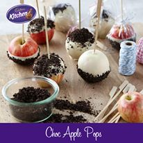 Get creative with #Sprinkles! These delicious Choccy #Apples coated in #OREO Sprinkles will go down a treat! #chocolate #cadbury  For more of our CADBURY Sprinkles Recipes visit https://www.cadburykitchen.com.au/search/results/12b1a4e5934620f702e375aba4f19149/