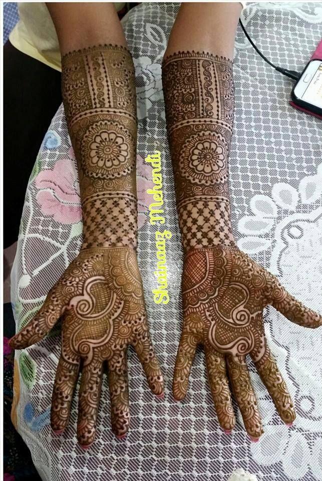 Shainaaz mehndi design