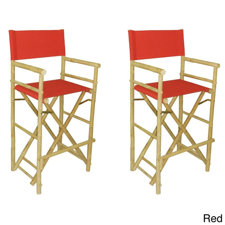 Phat Tommy Foldable Tall Directors Chair Set (Set Of 2) (Black) Patio Furniture (Polyester). Directoru0027s ChairBar StoolsFolding ...  sc 1 st  Pinterest & 78 best Bar Stools images on Pinterest | Directoru0027s chair Bar ... islam-shia.org