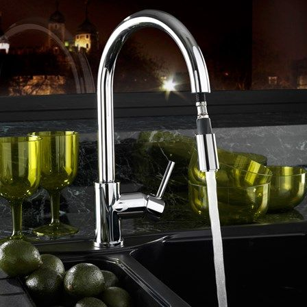 This Ultra Stylish Tap With An Elegant Swivel Neck Will Be A Worthy  Companion In