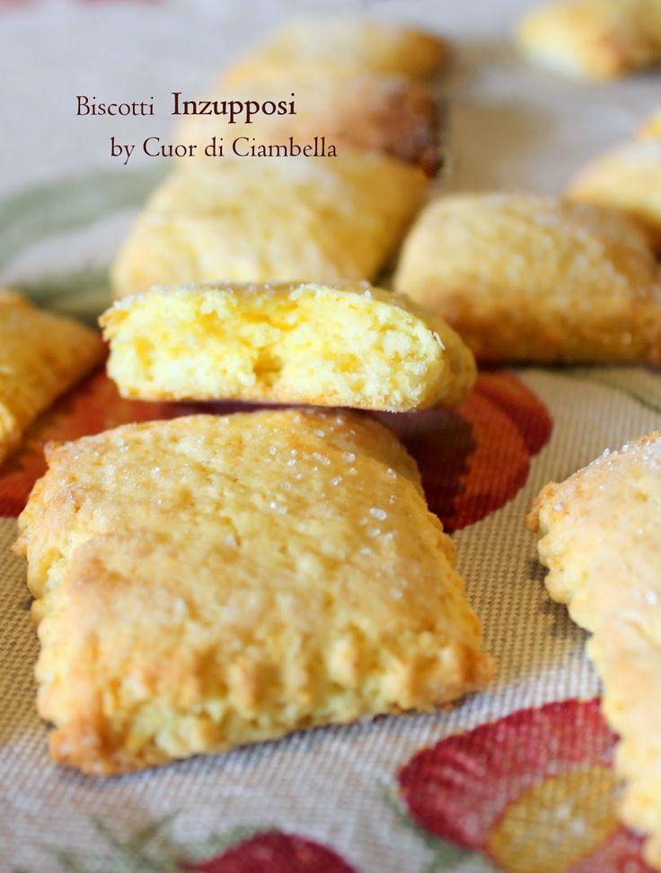 Cuor di Ciambella: Biscotti Inzupposi