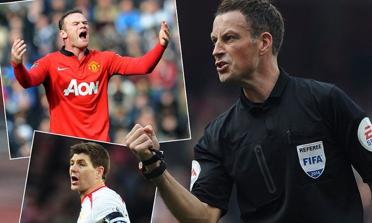 GRAHAM POLL REF WATCH: Clattenburg's baptism of fire at Old Trafford #DailyMail