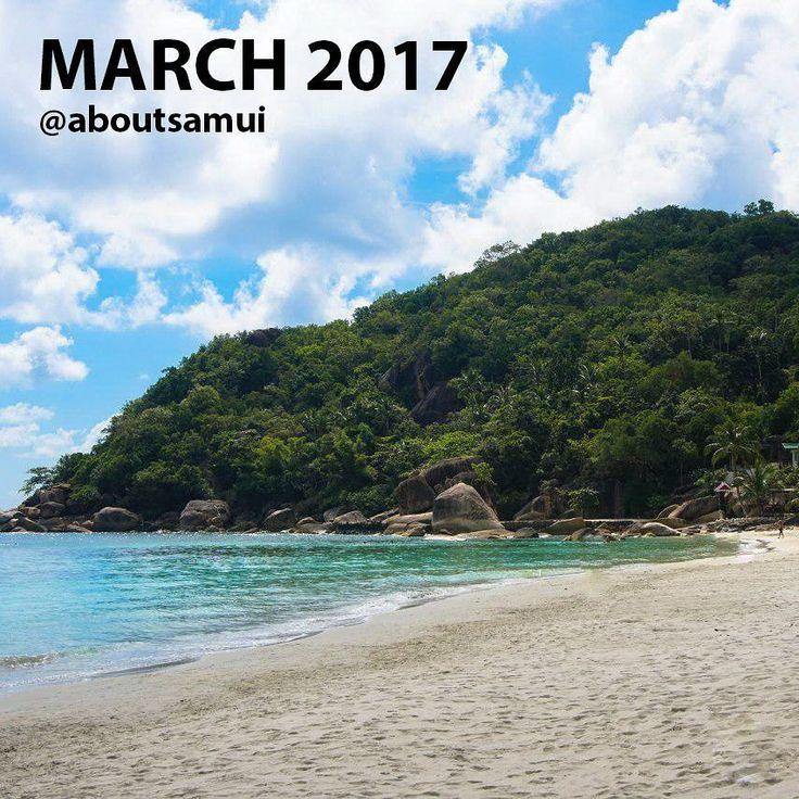 На календаре - новый месяц а это значит пришло время нашей традиционной рубрики #погодасамуи_aboutsamui :)  Итак каким же был март 2017?  Дождики обрамили солнечный и жаркий март. Те кто был на острове в начале и в конце месяца застали 2-3 дождливых дня. В остальные 90% времени на Самуи царила великолепная для отдыха погода. Море было попеременно то спокойным то на некоторых пляжах типа Чавенг Ноя и Ламаи поднимались волны в ветреные дни. Но погода в течение месяца позволяла назагораться и…