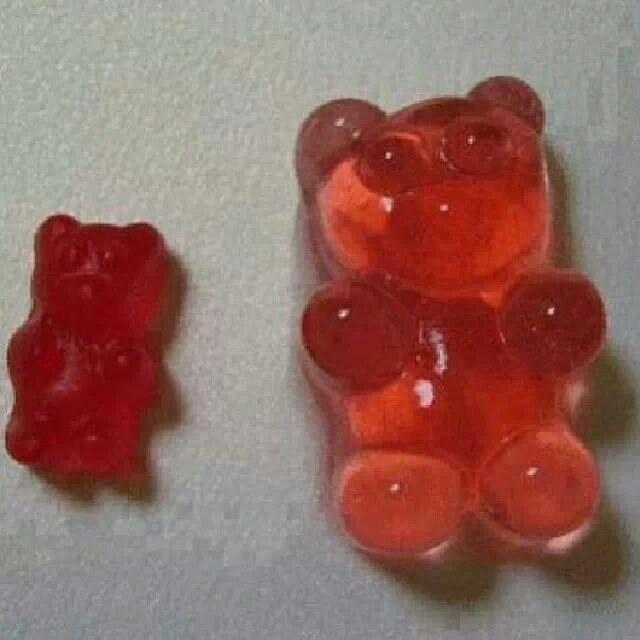 1: put your gummy bears in a container with a lid  2: submerge them in your alcohol of choice (vodka, tequila, ect)   3: cover and put in the fridge for 24 hours to soak up the liquid. They more you add the more the gummy bears grow.